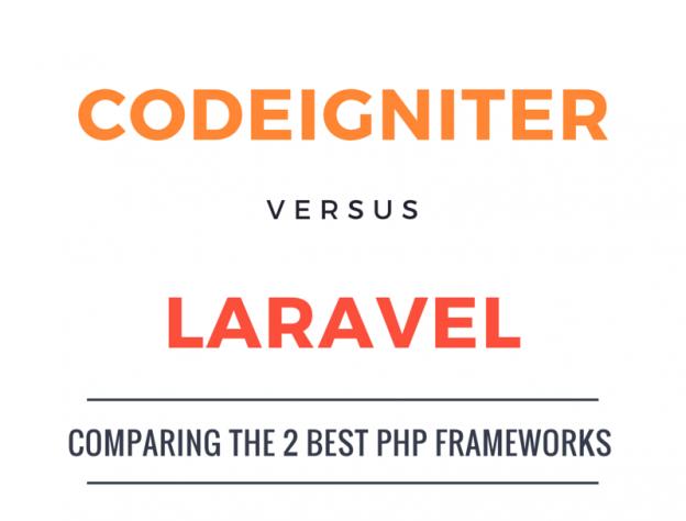 CodeIgniter vs Laravel – Who's the PHP Framework Champion?Backby Techno, on June 17 2015
