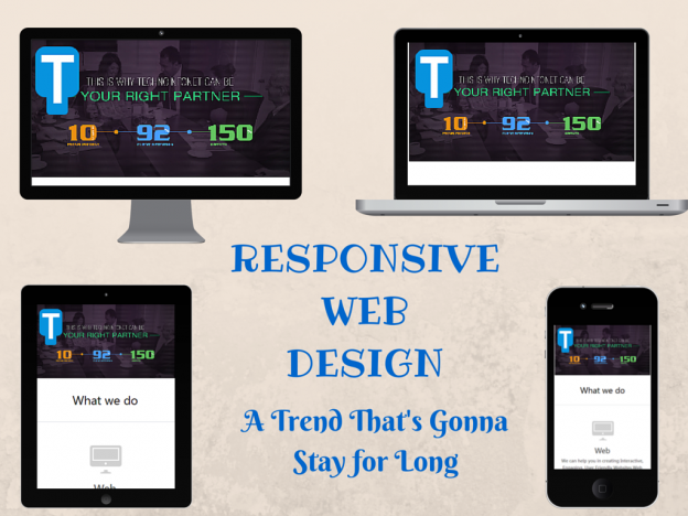Responsive Web Design – A trend that is going to last longer