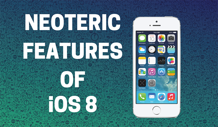 10 Newfangled Features of iOS 8 You May Have Missed