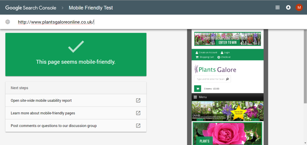 Google's New Mobile-Friendly Test Tool