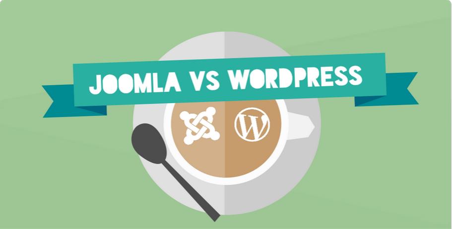 Joomla vs WordPress [Infographic]