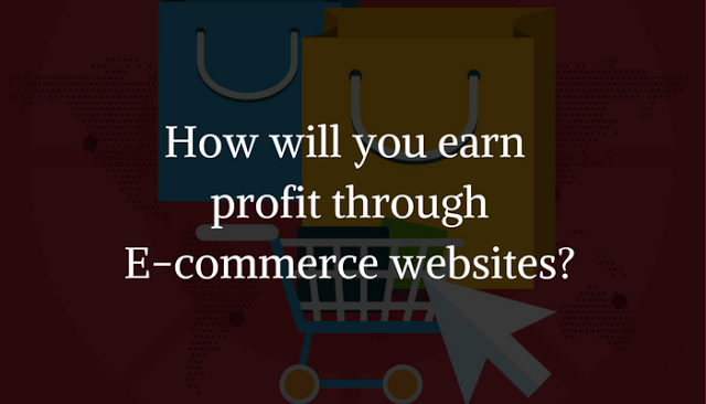 How Will You Earn Profit through E-commerce Websites?