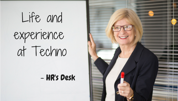 HR Experience in Techno