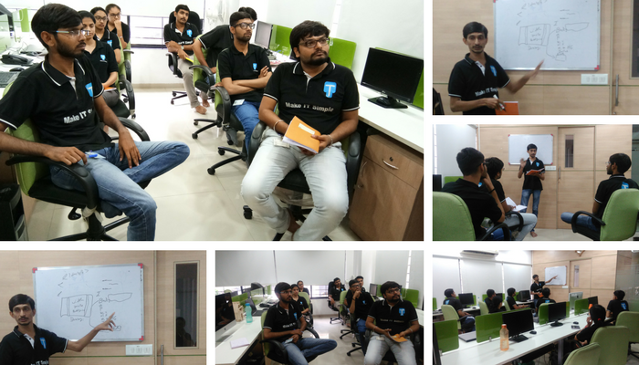 Web Design Seminar at Office