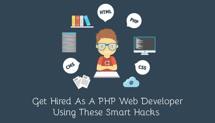 Get Hired As A PHP Web Developer Using These Smart Hacks
