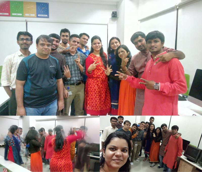 Navratri Celebrations at Techno Infonet