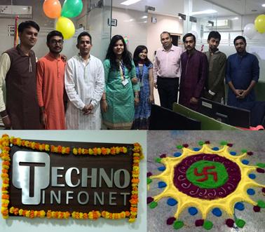Diwali Celebration At Techno Infonet