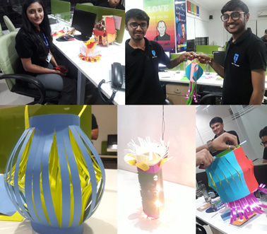 Saturday Activity – Lamp Making Competition