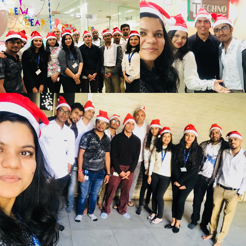 Christmas and New Year Celebration at Techno Infonet