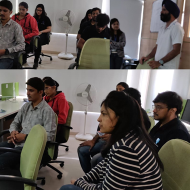 Saturday Activity –  Dhyan Session At Techno Infonet