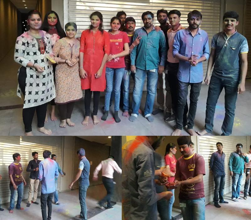 Celebration The Festival of Colours – Holi At Techno Infonet