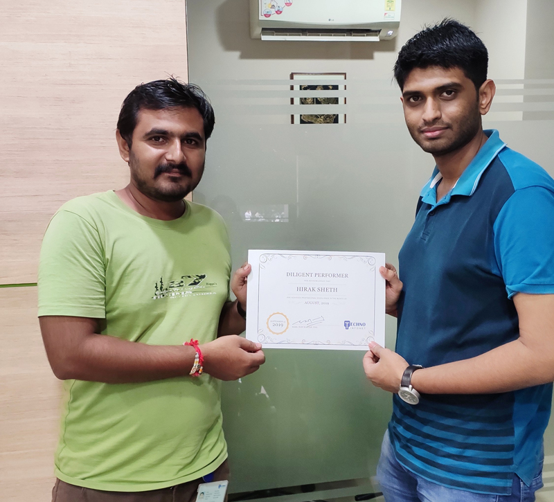 Employee of the month – August 2019