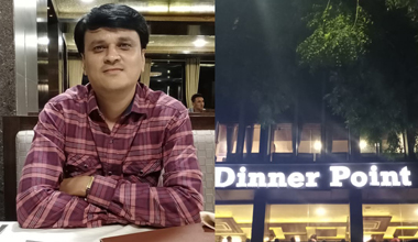 Employee of the month experience by Ajay Panchal at Dinner Point Restaurant