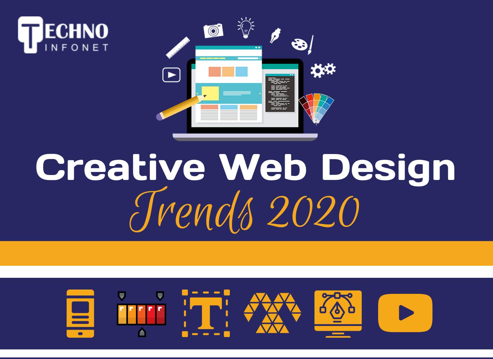 Creative Web Design Trends 2020