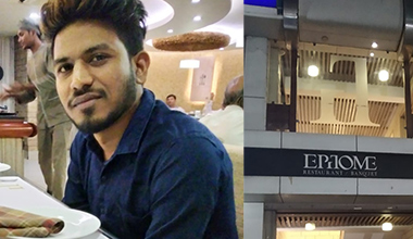 Employee of the month experience by Haresh Gadhvi at Epitome Restaurant