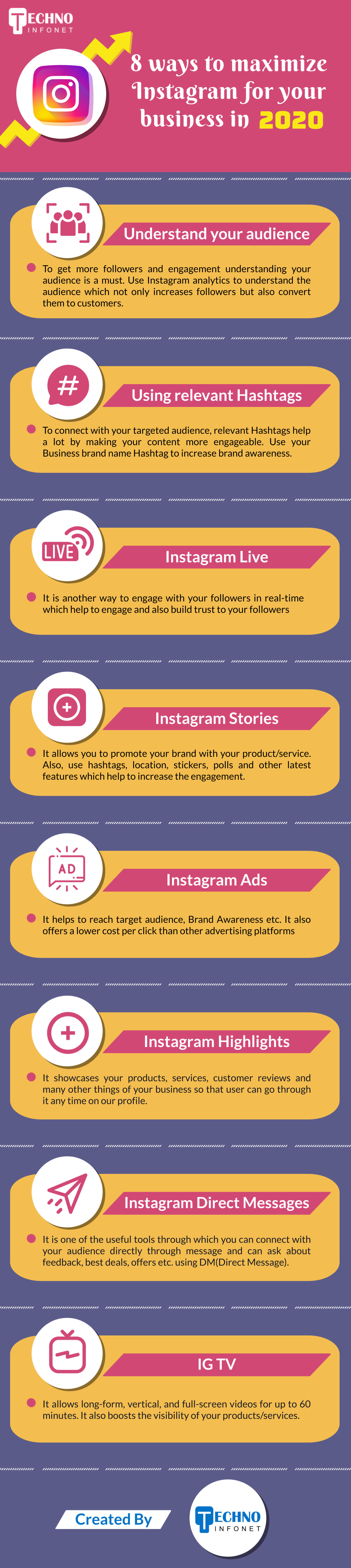 8 ways to maximize Instagram for your business in 2020