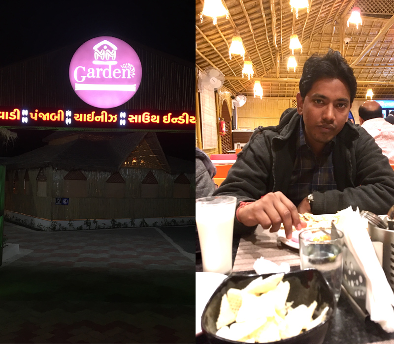 Employee of the month experience by Anil Prajapati at MM garden restaurant, Jamjodhpur
