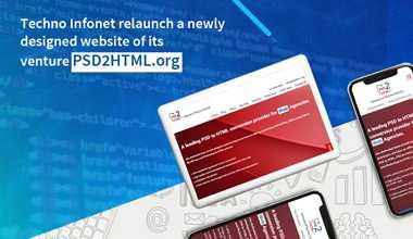 Techno Infonet relaunch a newly designed website of its venture PSD2HTML.org