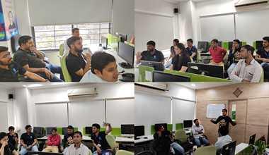 Debate, Dumb Charades, Bollywood, Tambola game fun at Techno Infonet