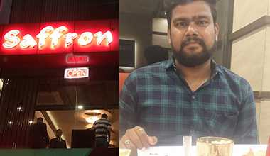 Employee of the Month experience by Bhargav Upadhyay at Saffron Restaurant