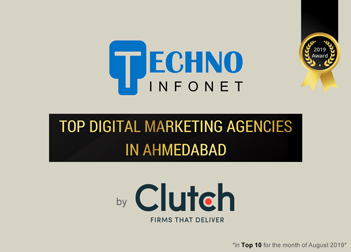 Digitally strong – Techno Infonet is ranked as one of the top Digital Marketing Agencies in Ahmedabad