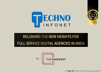 Techno Infonet is relishing the new heights for full service Digital Agencies in India by The Manifest