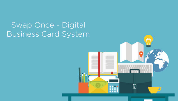Swap Once – Digital Business Card System