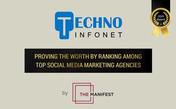 Proving the worth by ranking among top 10 Social Media Marketing Agencies