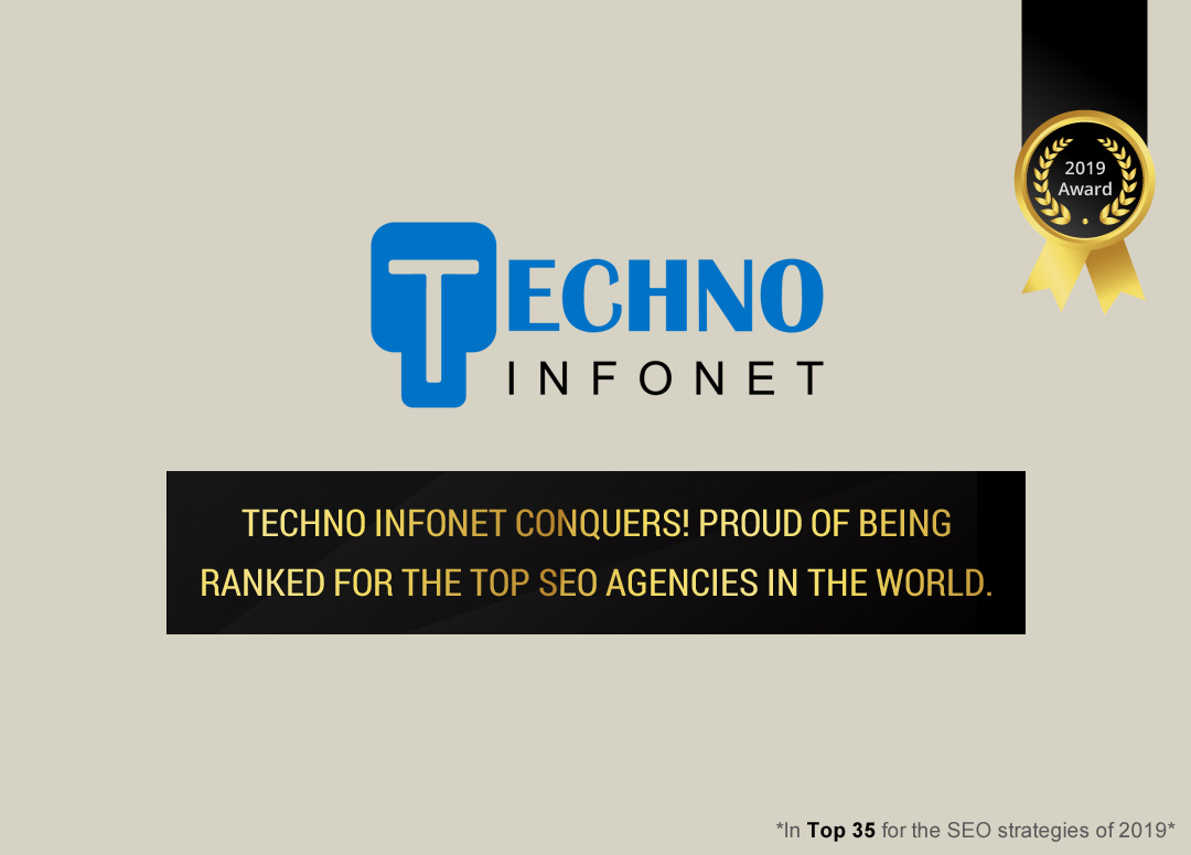 Techno Infonet Triumphs! Proud for being ranked amongst the top SEO agencies