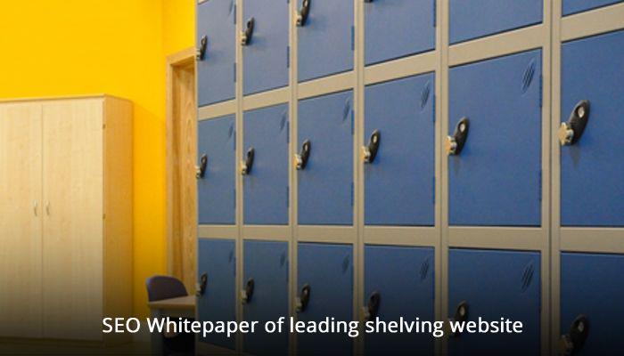 SEO Whitepaper of leading shelving website