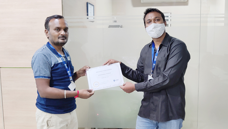 In Conversation with Jitendra Yadav- Employee of the Month – February 2021