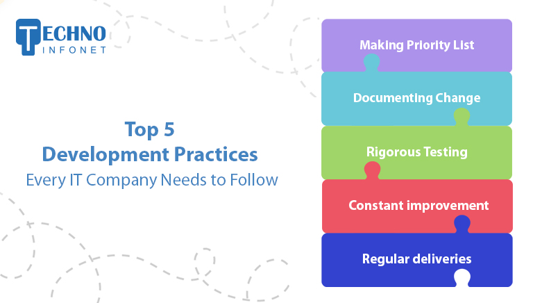 Top 5 Software Development Practises Every IT Company Needs to Follow