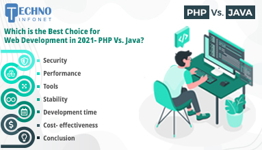 Which is the Best Choice for Web Development – PHP Vs. Java